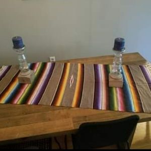 Antique Serape Table Runner